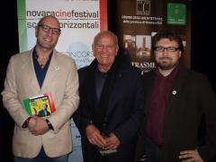 Castellari, presidente Giuria fiction con Paracchini e Rudoni della Giuria Laboratorio/Animazione