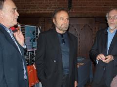 Franco Nero con Gianni Lucini e Mario Tosi