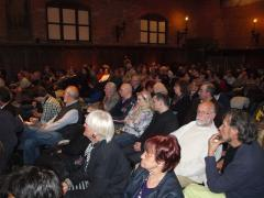 Il pubblico presente alla serata inaugurale