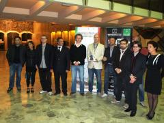 I vincitori 2011: foto di gruppo con Giurie