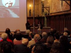 Antonella Ferrari presenta il documentario di Daverio a Trasmettere l'Architettura.