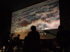 La magia delle immagini del film Baraka ed sound di Progetto Kino hanno chiuso il festival 2012.