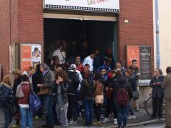 """Le proiezioni hanno coinvolto anche oltre 300 studenti delle scuole secondarie di Novara. La Giuria studenti ha votato """"C'era un fienile"""", di Beppe De Caro, miglior film."""