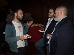 Il direttore della fotografia Pasquale Remia premiato per 'La prima legge di Newton' con i giurati Andrea Caniato e Riccardo Gallone.