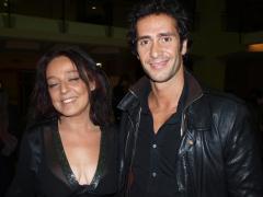 La sceneggiatrice Stefania Rossella Grassi e l'attore Cristian Stelluti