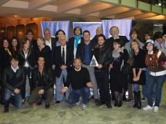I vincitori del 7° NovaraCineFestival con gli organizzatori e i giurati
